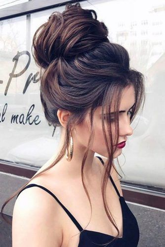 Hairstyles That Match Your Dress #updo #bun