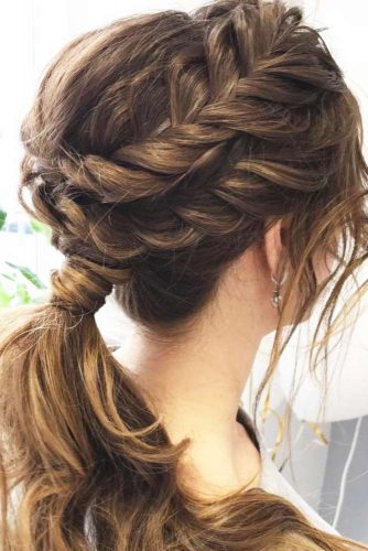 Add Small Side Braids into Your Ponytail picture 2