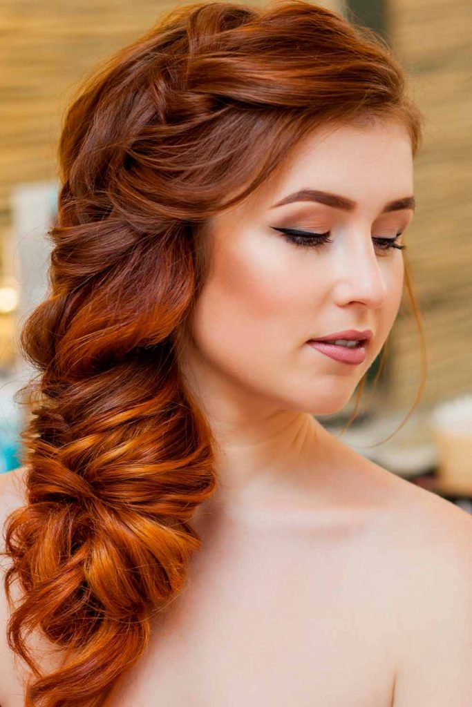 Big Voluminous Side Braid