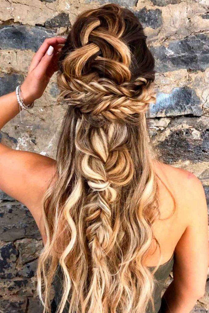 Romantic Bohemian Braids