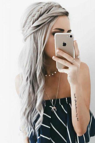 Top Braided Hairstyles By Emily Rose Crown #braids #half-up