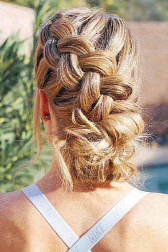 Dutch Elegant Crown Braids #braids #updo