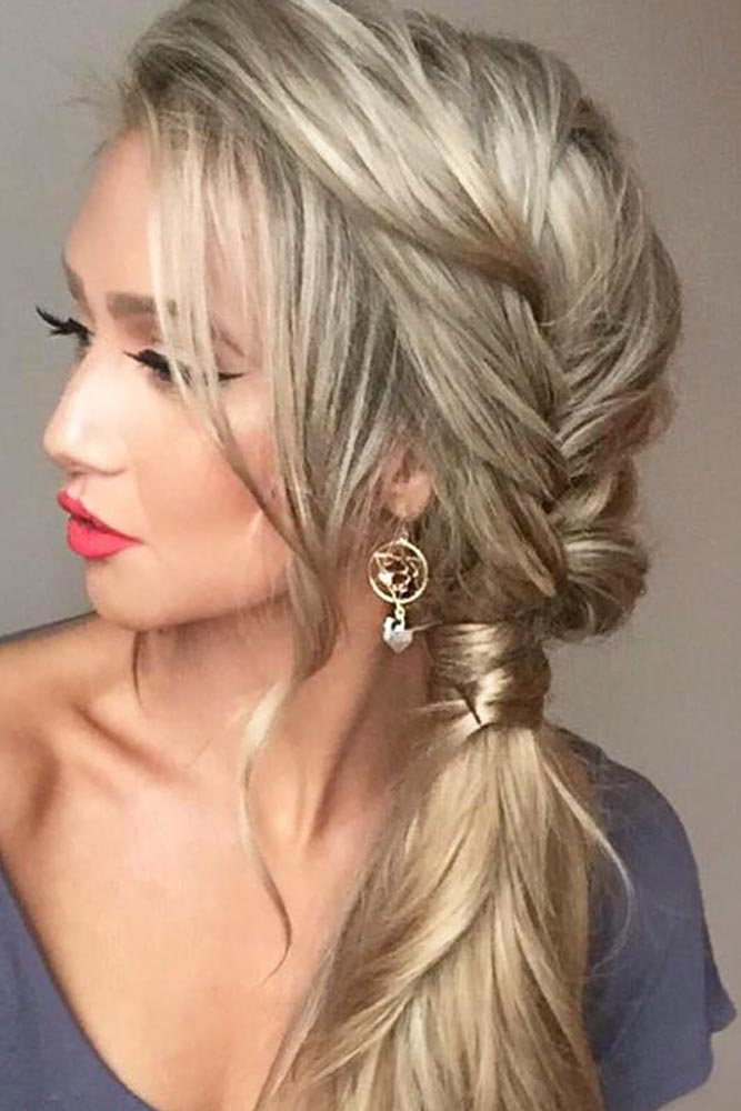 Add Small Side Braids into Your Ponytail picture 3