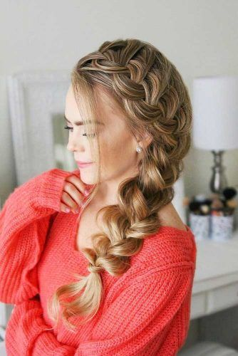 French Braids On The Side #braids #frenchbraids #hairstyles