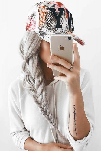 Top Braided Hairstyles By Emily Rose Fishtail #braids #longhair