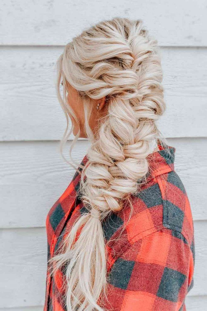 Mermaid Braid #mermaidbraid #blondehair