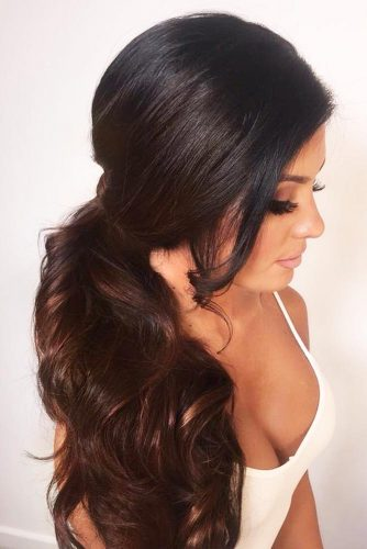 Romantic Hairstyles with a Ponytail picture 3