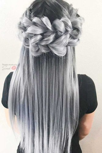 Cute Silver Ombre picture1