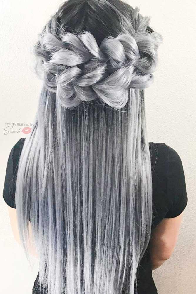 Cute Silver Ombre picture1