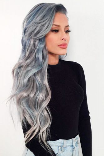 Cute Silver Ombre picture2