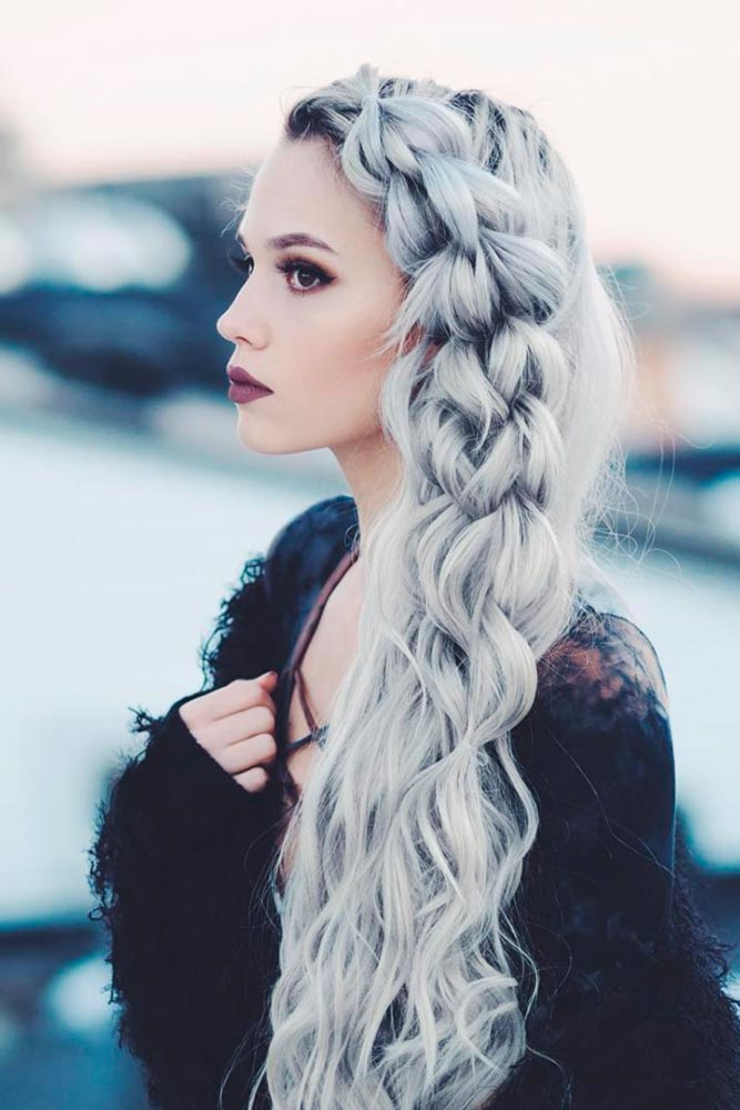 Amazing Silver Ombre Hair picture2