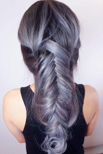 Silver Ombre Ideas on Long Hair picture2