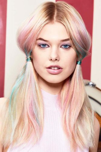 Extremely Colorful Hairstyles picture 2