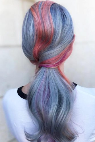 Extremely Colorful Hairstyles picture 1
