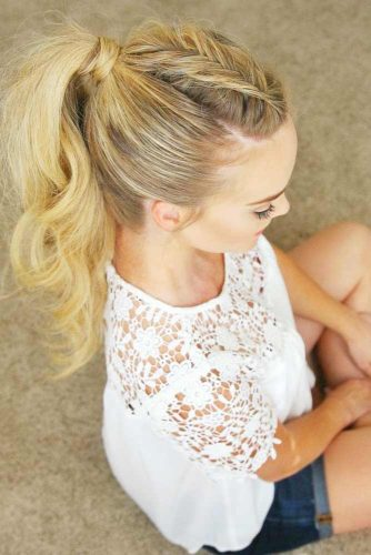 Classy Ponytail Hairstyles picture 1