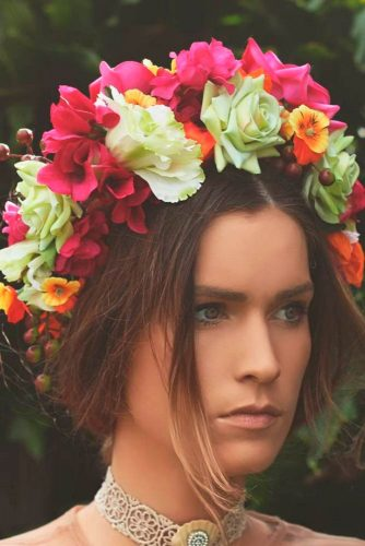 Flowered Wedding Hairstyles picture1