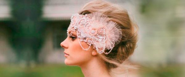 24 Looks with Wedding Headbands and Accessories Inspired by Romance