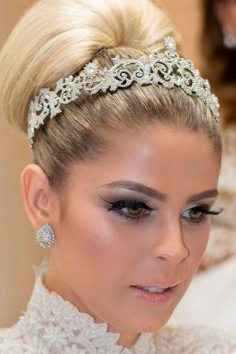 Simple and Charming Weddind Headbends picture3