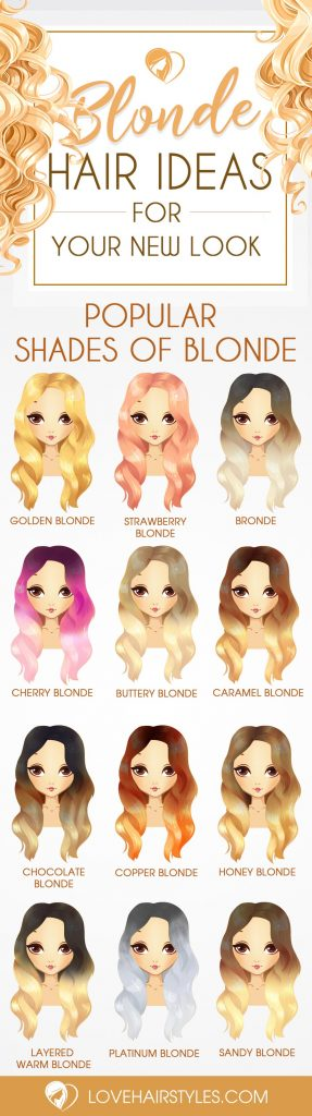 Gorgeous Shades of Blonde Hair