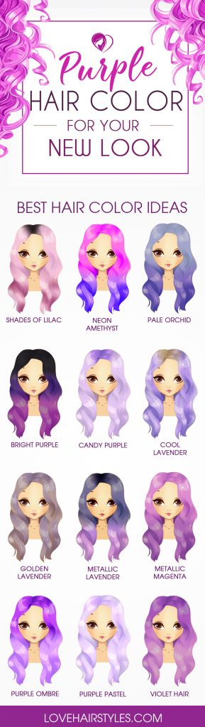 Amazing Purple Hair Color Ideas