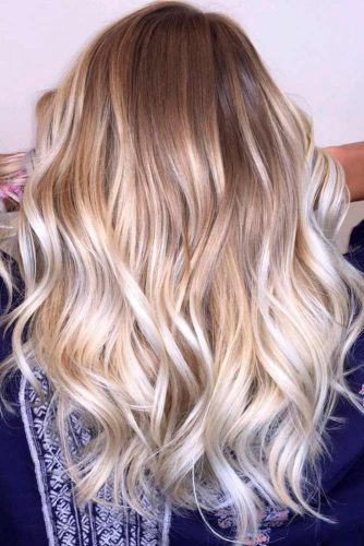 White Blonde Ombre
