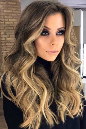 Face Shape Balayage