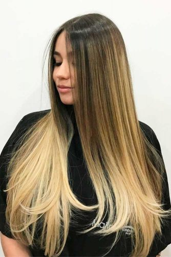 Layered Warm Blonde