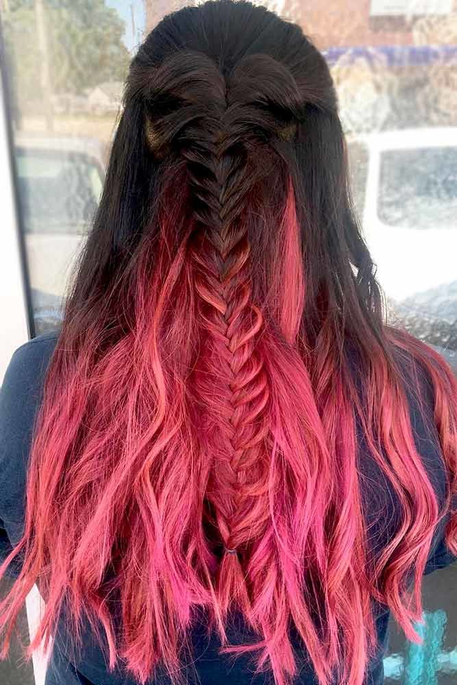 Long Hairstyles With Fun Fishtail Look