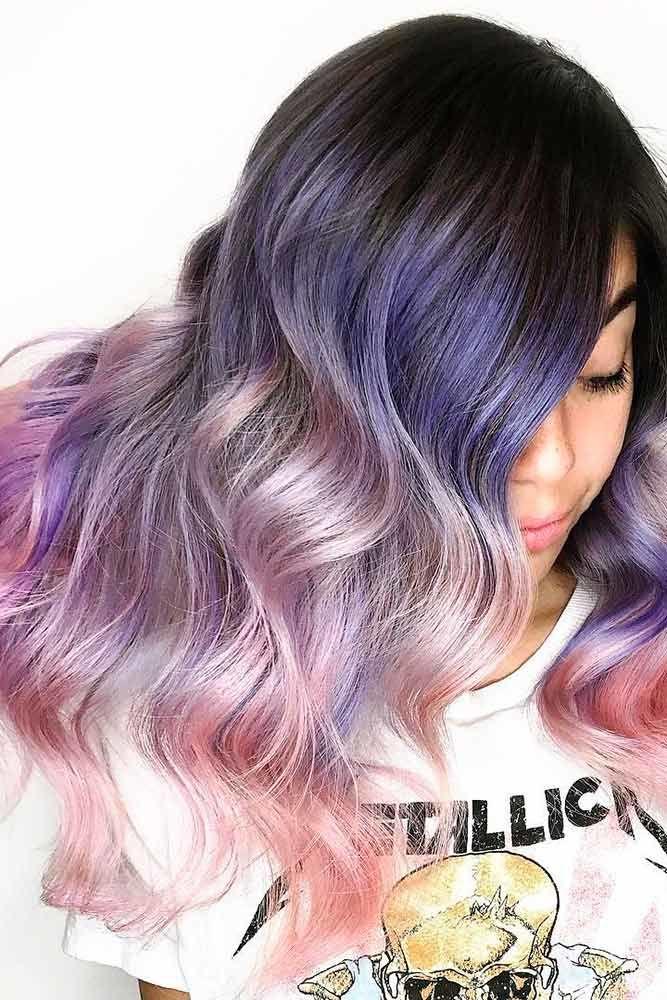 Bouncy Curls Long Hairstyles