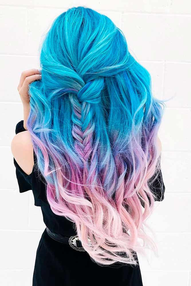 Cute Mermaid Hair Long Hairstyles