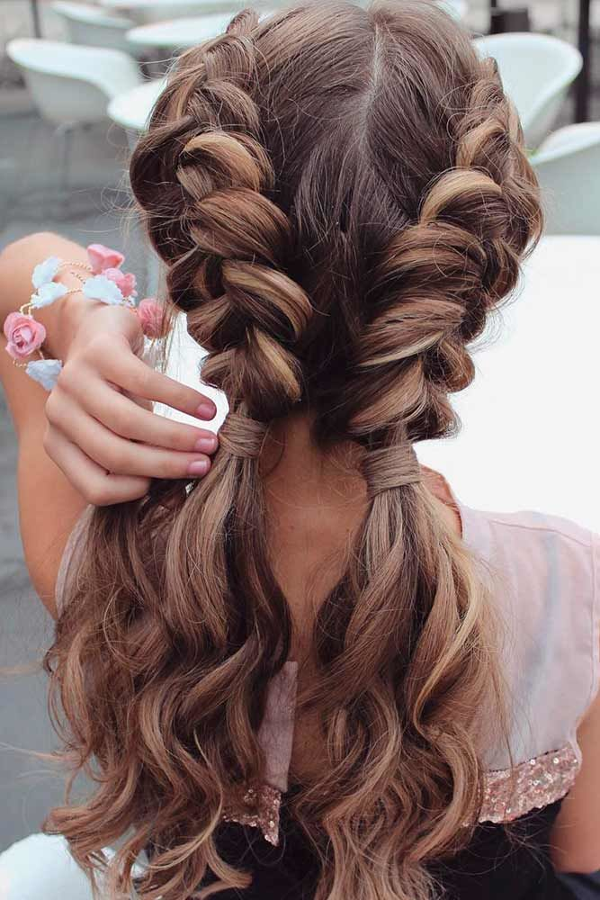So Pretty Double Dutch Braids Long Hairstyles