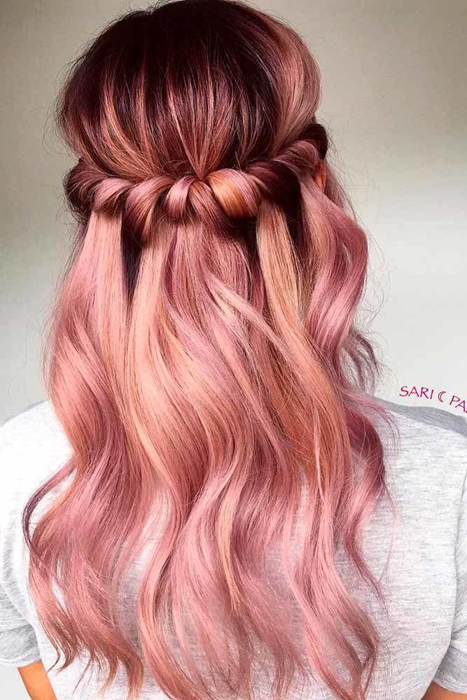 Easy Headband Long Hairstyles
