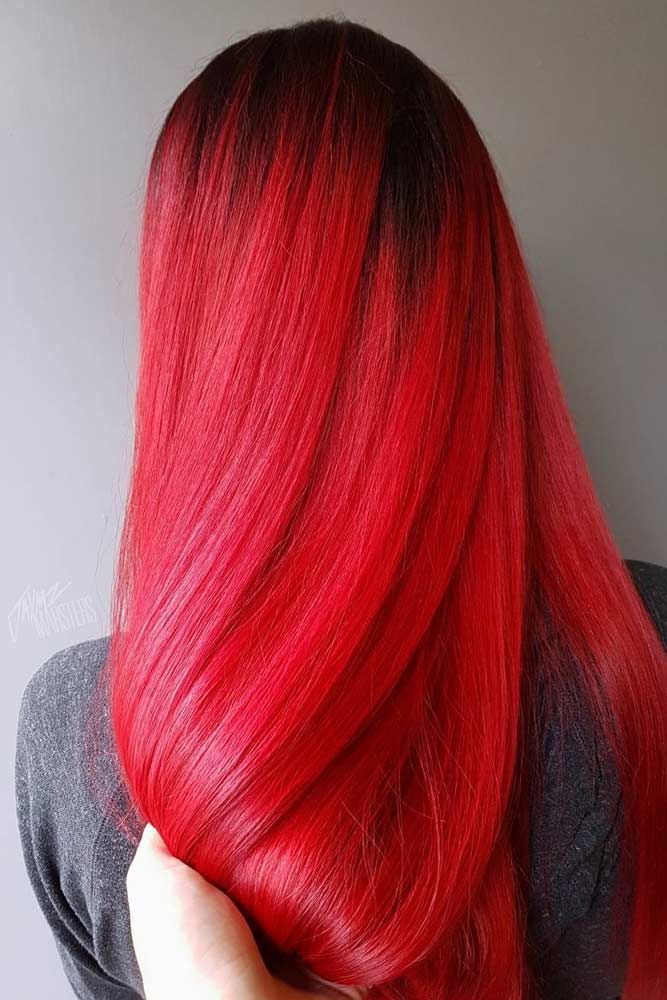 Sexy Red Hair Long Hairstyles