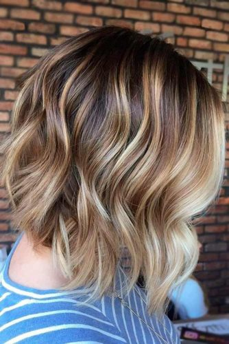 Blonde Highlighted Waves