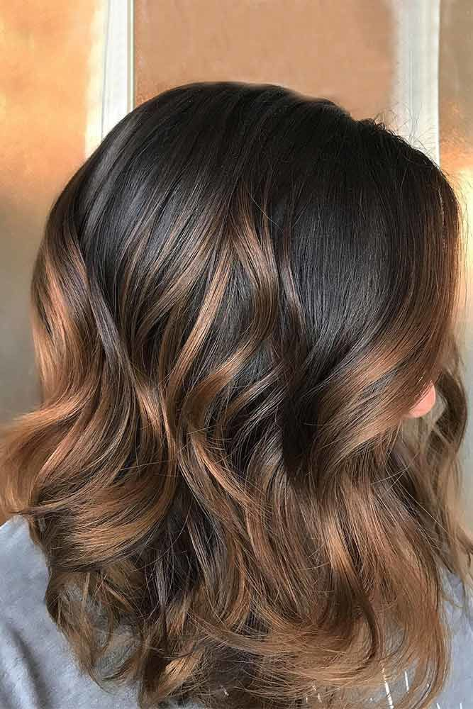 Cool And Trendy Autumn Colors Layers #brownhairwithhighlights #highlights