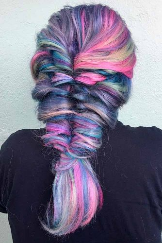 Geode Color on Medium Hair picture3
