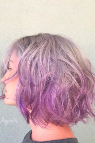 Geode Hair Color on Bob Haircut picture2