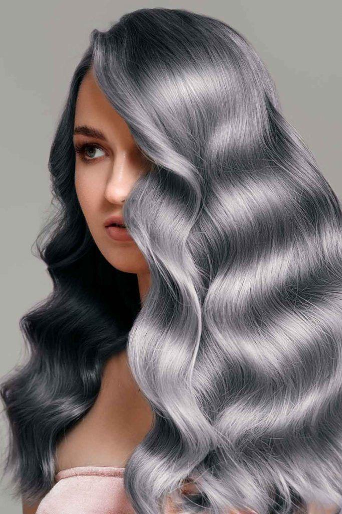 Graphite Hair