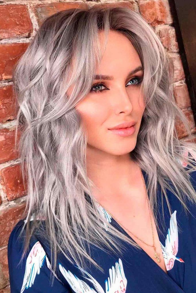 Cute Wavy Gray Hair