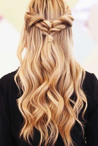 Sleek Ponytail Looks Balayage #ponytail #half-up #balayage