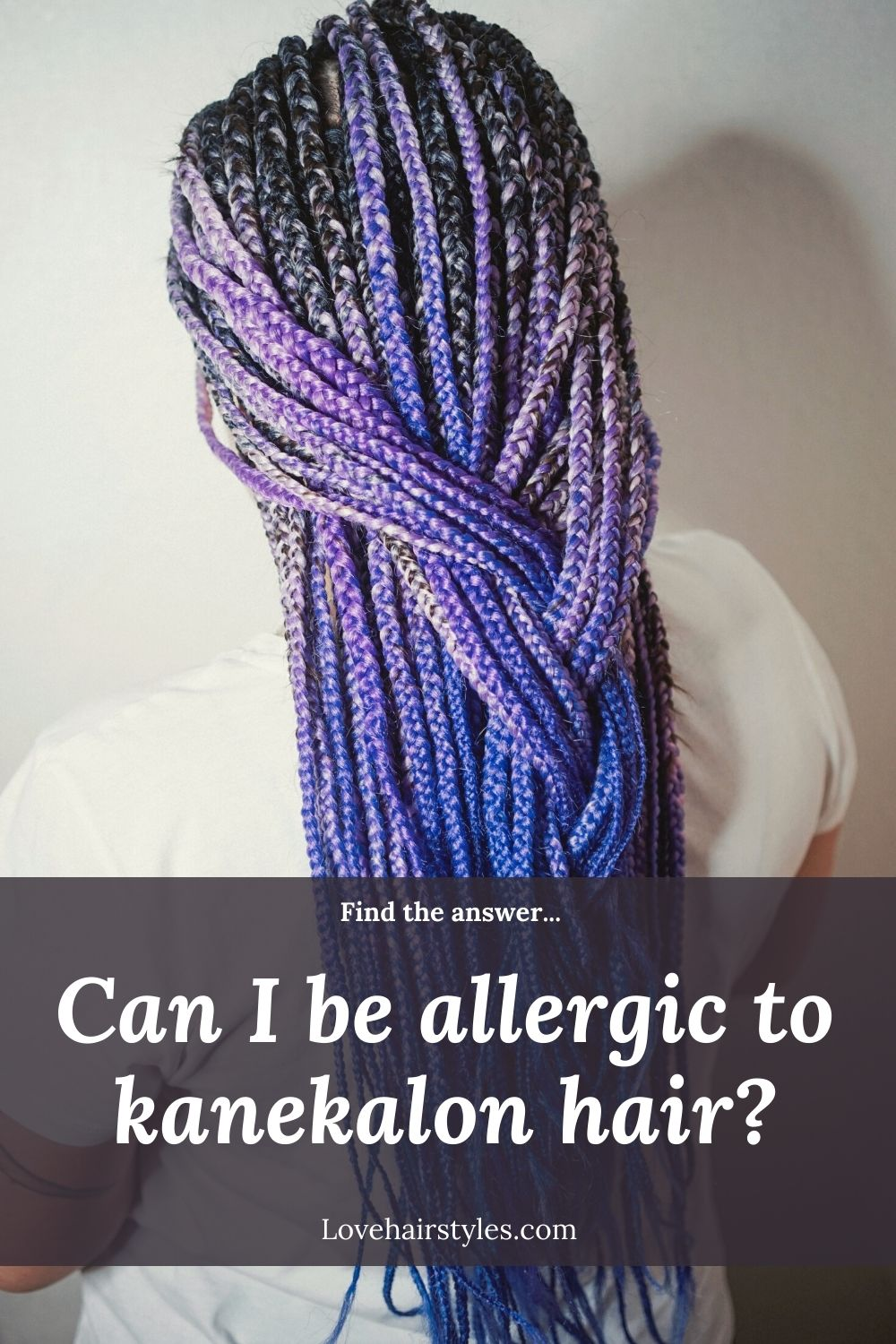 Can you be allergic to kanekalon hair?