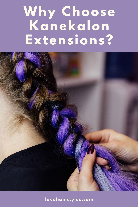Why Choose Kanekalon Extensions?