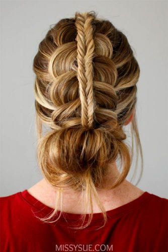 Funky Fishtail Braid