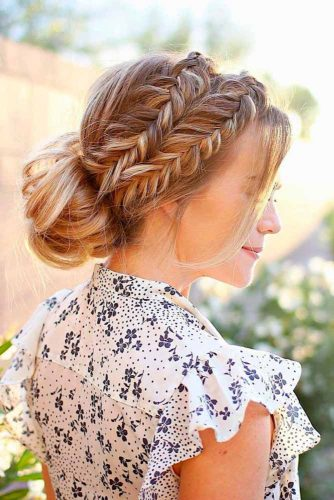 Braid and Bun Combo