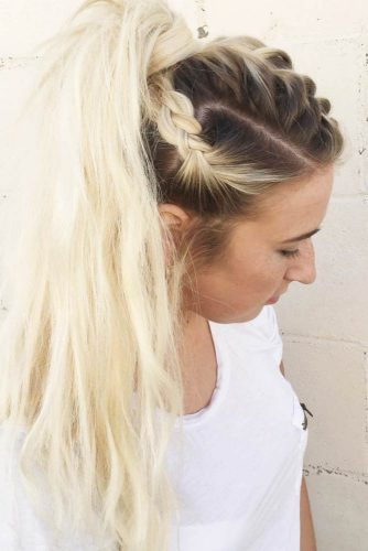 Awesome Knotted Ponytail picture 1