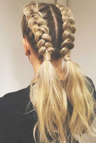 Fabulous Half-Braided Ponytails picture 2