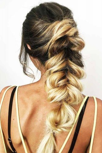 Charming Braided Ponytails picture 3