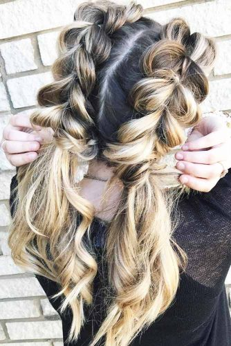 Charming Braided Ponytails picture 1