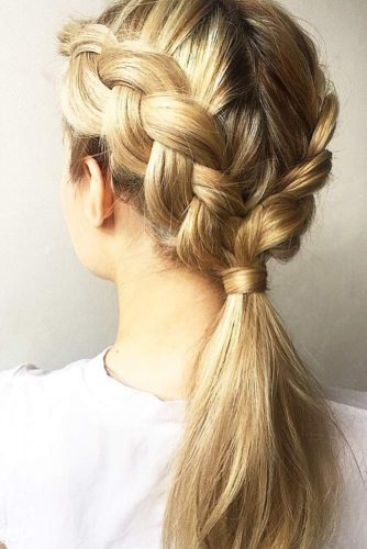 Awesome Knotted Ponytail picture 2