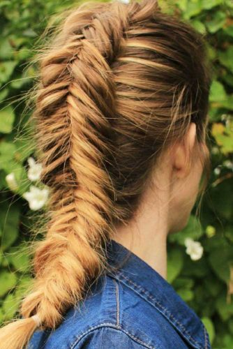 Dutch Fishtail Braids picture 2